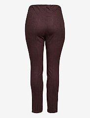 JunaRose - JRATONIA LEGGINGS - S - nahka - chocolate plum - 1