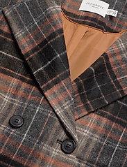JunaRose - JRCAROL LS COAT - S GA - manteaux en laine - black - 2