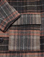 JunaRose - JRCAROL LS COAT - S GA - manteaux en laine - black - 3