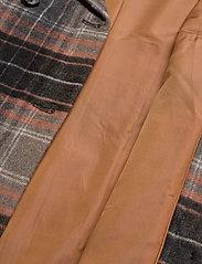 JunaRose - JRCAROL LS COAT - S GA - manteaux en laine - black - 4