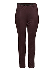 JRATONIA LEGGINGS - S - CHOCOLATE PLUM