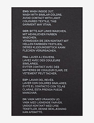 JunaRose - JRFOUR RW SS COATED PANTS - K GA NOOS - slim jeans - black - 3