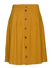 JRBRINO MIDI SKIRT - K - HARVEST GOLD