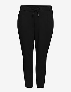 JRAMAJA ANKLE PANTS - S NOOS - slim fit spodnie - black
