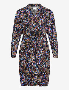 JRJADA LS ON KNEE DRESS - K GA - robes chemises - plantation