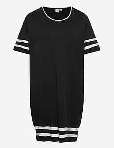 JRLIZETTE 2/4 SL SHORT DRESS - S GA - robes courtes - black