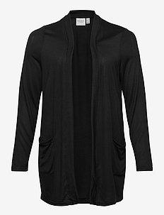 JRELLEN LS KNIT CARDIGAN - S - cardigans - black