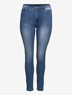 JRZEROTANJA SL MB JEANS - K NOOS - slim jeans - medium blue denim