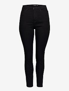 JRZEROTANJA SL BLACK JEANS - K NOOS - slim jeans - black