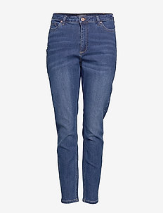 JRZERONOVA MB JEANS - K NOOS - MEDIUM BLUE DENIM