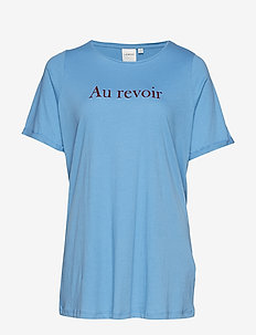 JRREVOIR SS T-SHIRT - S - PARISIAN BLUE