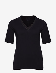 JRLIA SEAMLESS SS T-SHIRT - S - BLACK