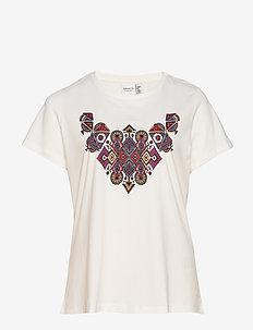 JRFUTU SS T-SHIRT - S GA - t-shirts med tryck - snow white