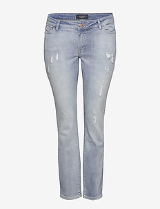 JRFIVE SL ADIA LB ANKLE JEANS - K - slim jeans - light blue denim