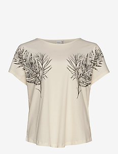 JRALLY SS T-SHIRT - S GA - t-shirts - vanilla ice