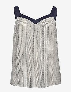 JRFADAK SL TOP - K - blouses sans manches - vanilla ice