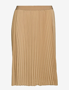 JRSAGA BELOW KNEE SKIRT - K - midi skirts - cuban sand