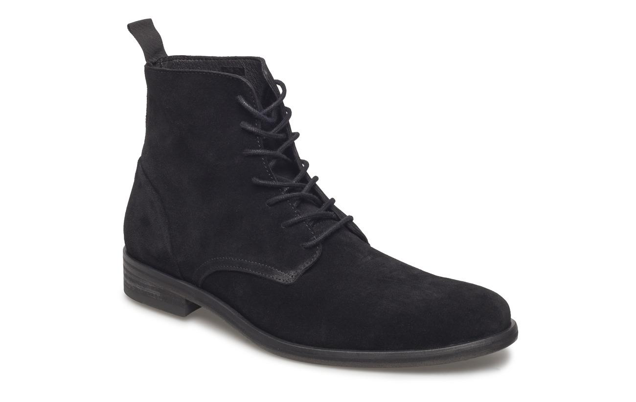 Boots Lace De Caoutchouc Junk Empeigne Extérieure Doublure Vache Up Black Semelle Suede 100 Peau Luxe Intérieure Supérieure nqpnxwAFX