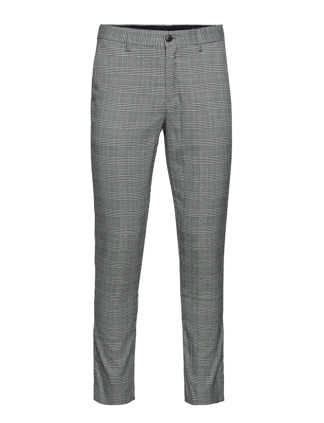 JUNK de LUXE Prince of Wales club pants - GREY MIX