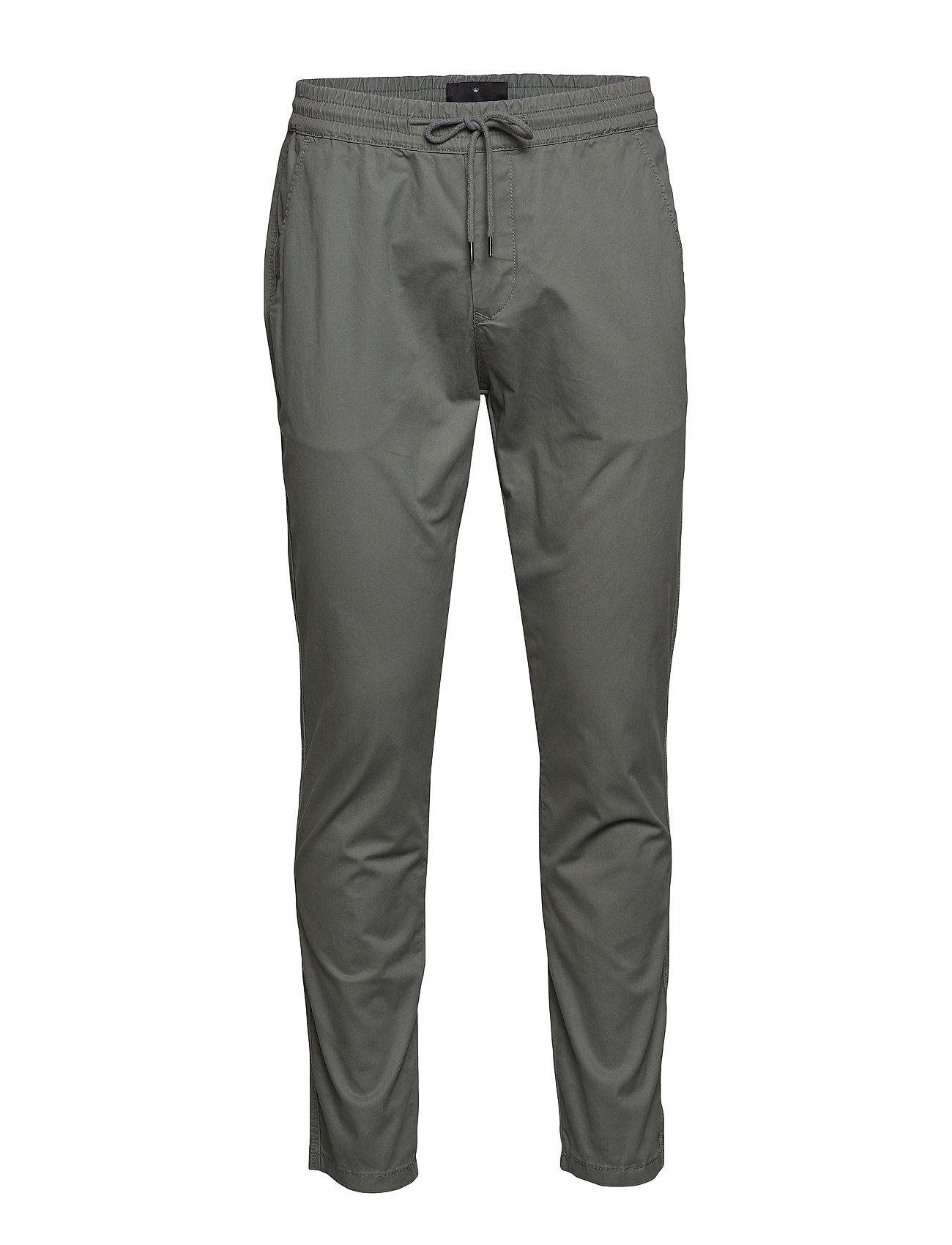 JUNK de LUXE Stretch cotton pants - GREY