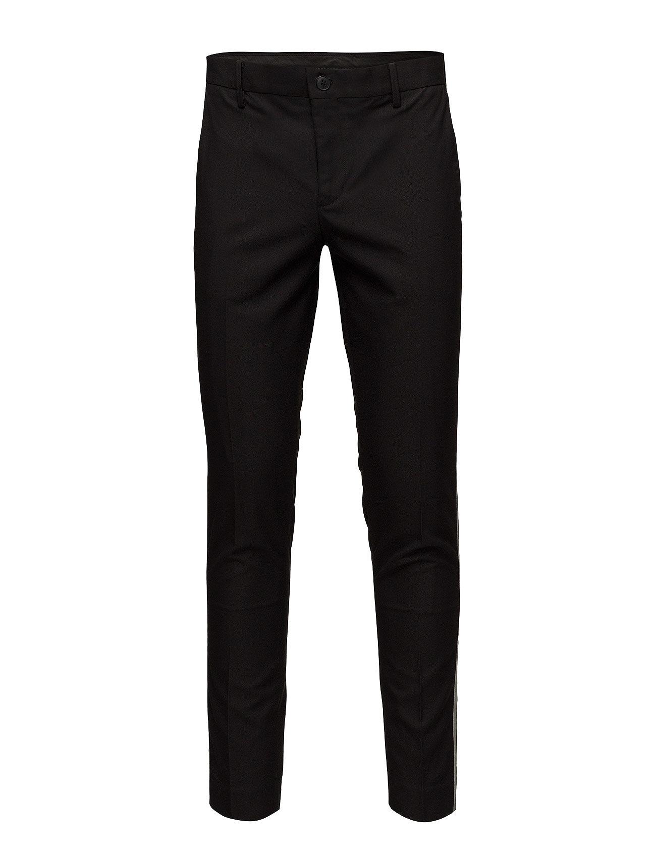 JUNK de LUXE Contrast tape club pants - BLACK