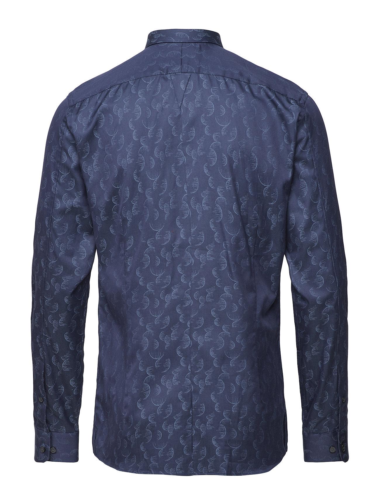 Jacquard Luxe s BlueJunk Shirtdk Dress L De wvm80nNO