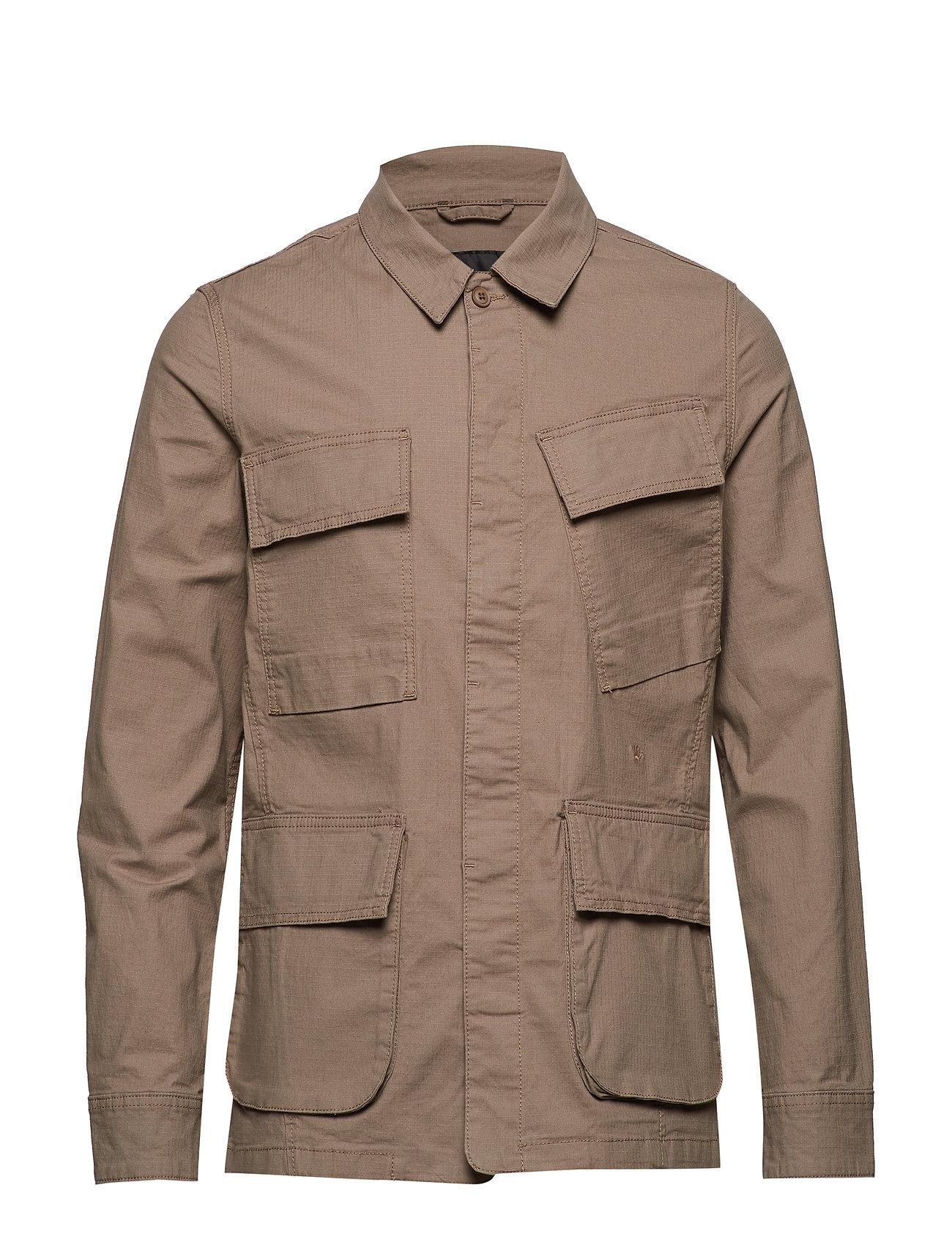 JUNK de LUXE Ripstop motorcycle jacket - DARK SAND