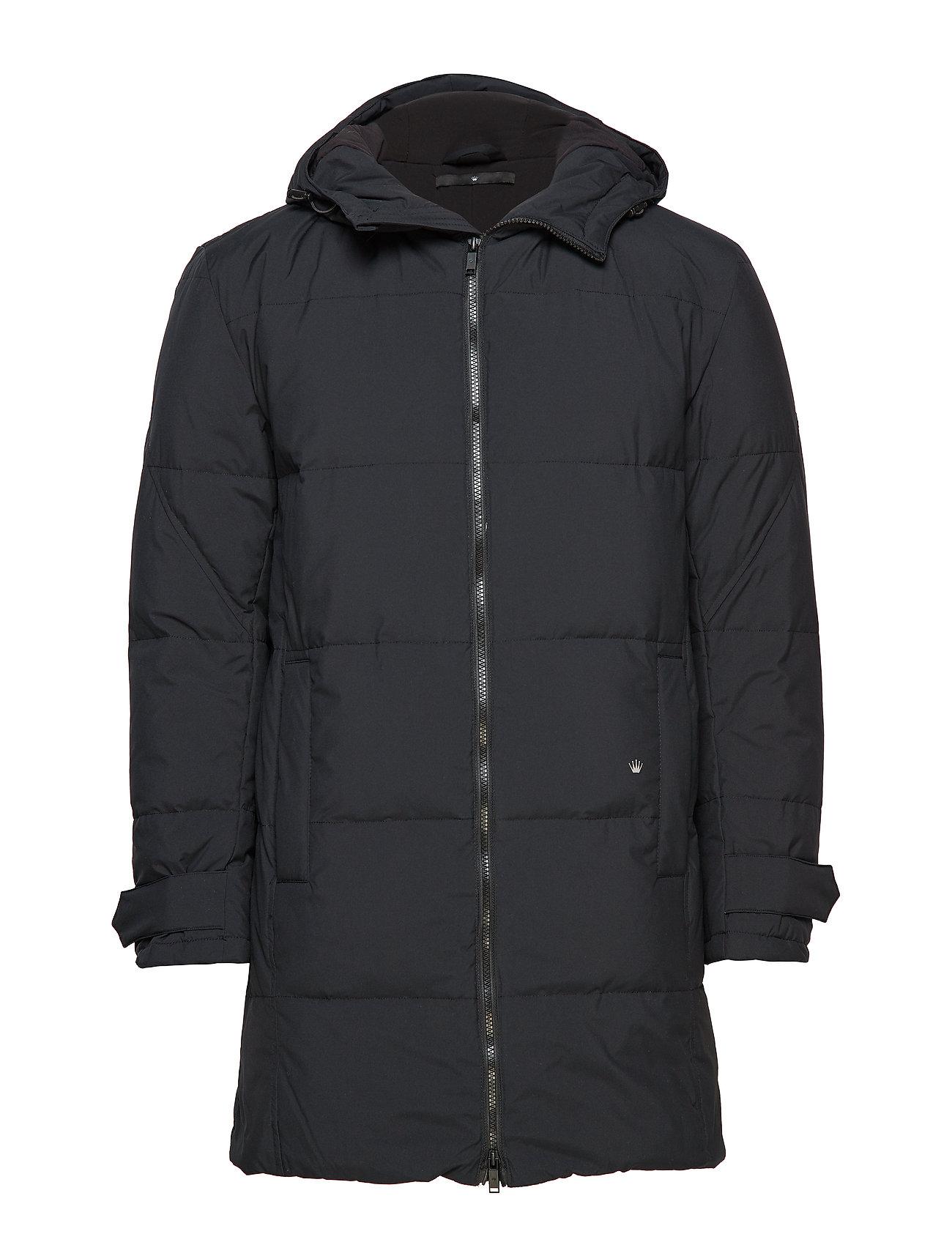 JUNK de LUXE Down padded parka coat - BLACK