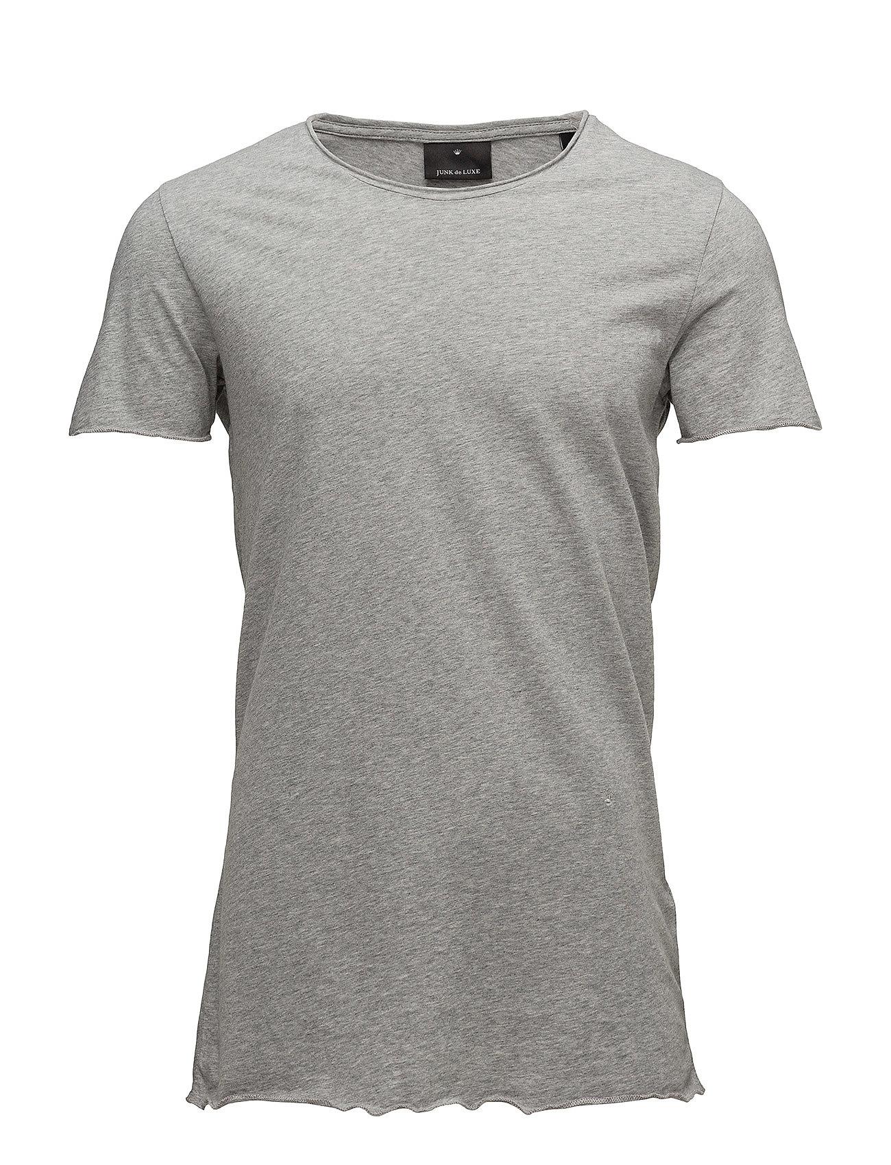 Image of Raw Edge Tee T-shirt Grå JUNK De LUXE (2945789279)