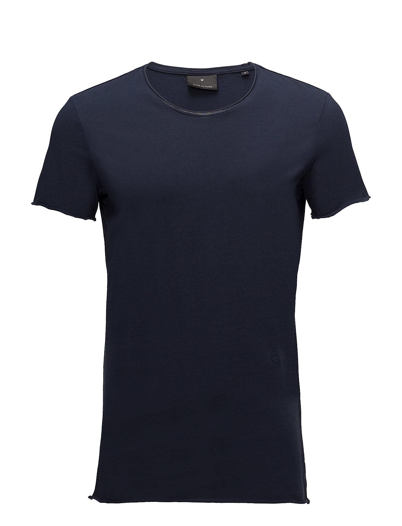 Image of Raw Edge Tee T-shirt Blå JUNK De LUXE (2870558517)