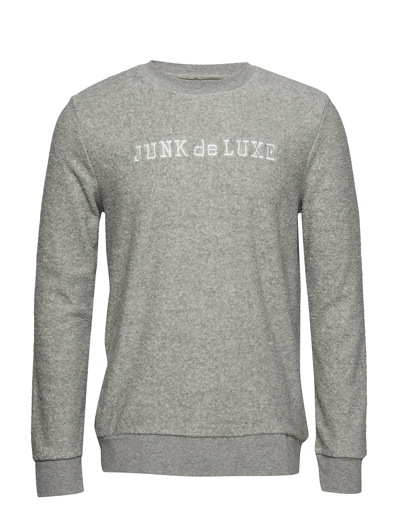 JUNK de LUXE Terry cloth embroidery sweat Ögrönlar