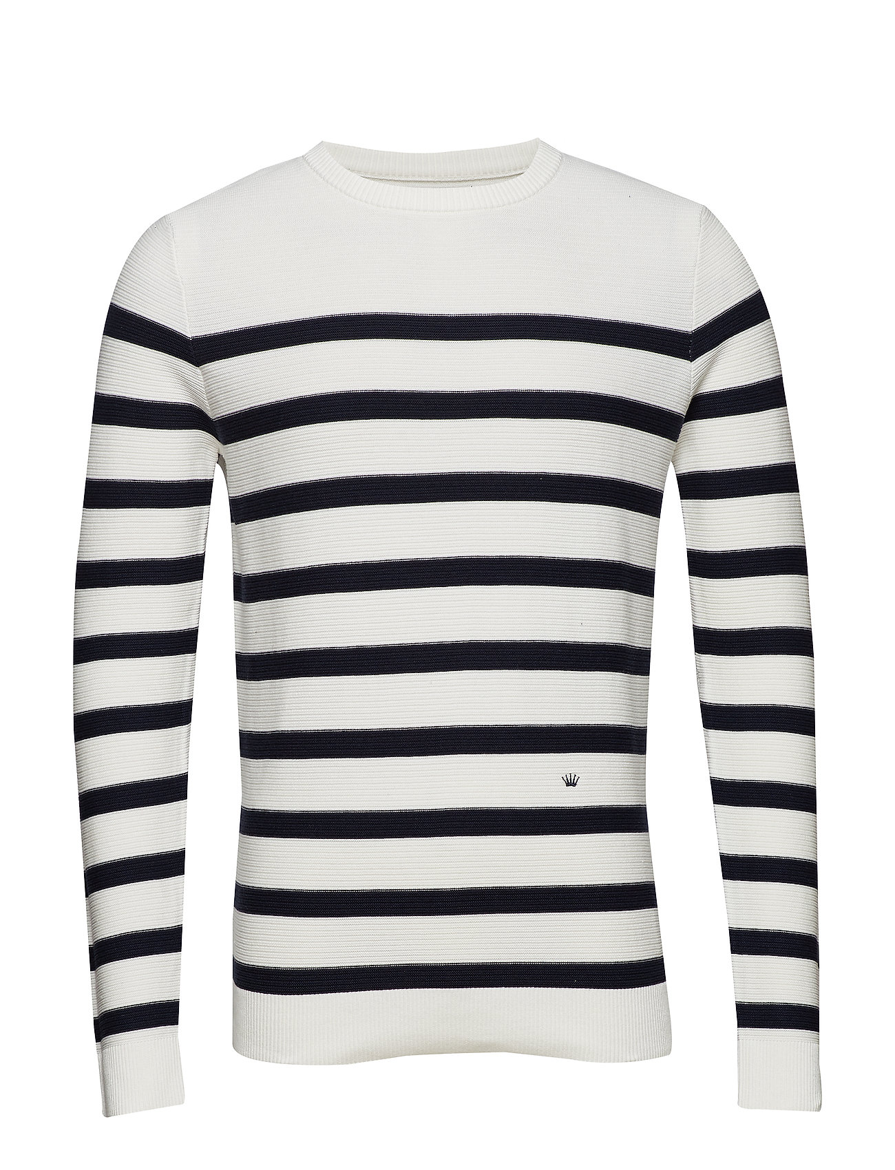 De Luxe Striped Jumperoff WhiteJunk Knit tdshCQr