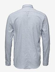 JUNK de LUXE - Cotton twill mélange L/S shirt - chemises basiques - lt blue mel - 1