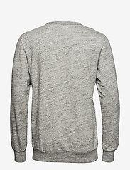JUNK de LUXE - Herringbone double cloth sweat - sweats - grey mel - 1