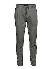 Stretch cotton pants - GREY
