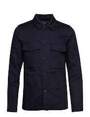 Heavy twill work jacket - NAVY