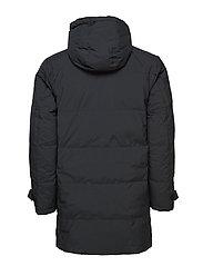 Down padded parka coat