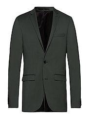 Wool suiting blazer - LT ARMY