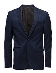 Wool suiting blazer - NAVY