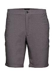 Elasticated shorts - GREY MEL