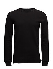 Double layer fabric sweat - BLACK