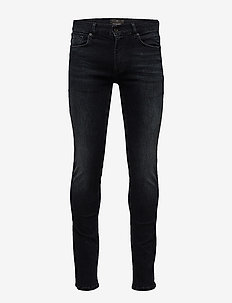Shadow indigo skinny jeans - SHADOW WASH
