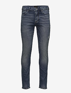 Denim skinny jeans - WASH INDIGO