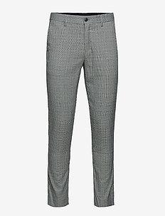 Prince of Wales club pants - dressbukser - grey mix