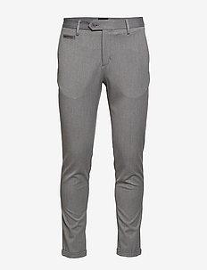 Stretch club pants - GREY MEL