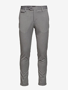 Stretch club pants - puvunhousut - grey mel