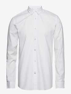 Oxford L/S shirt - WHITE
