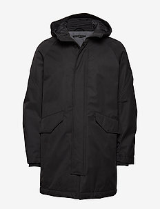 Padded parka coat - toppatakit - black