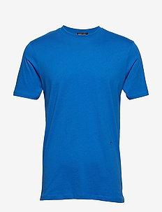 Round neck tee - BLUE