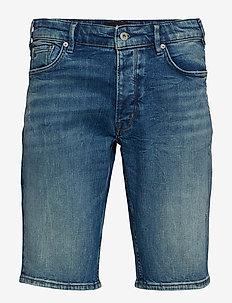 Denim indigo shorts - WASH INDIGO